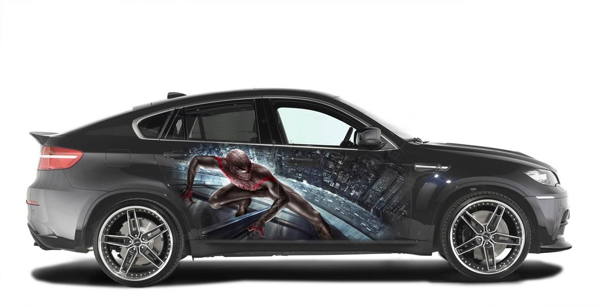 Аквапечать на BMW X6